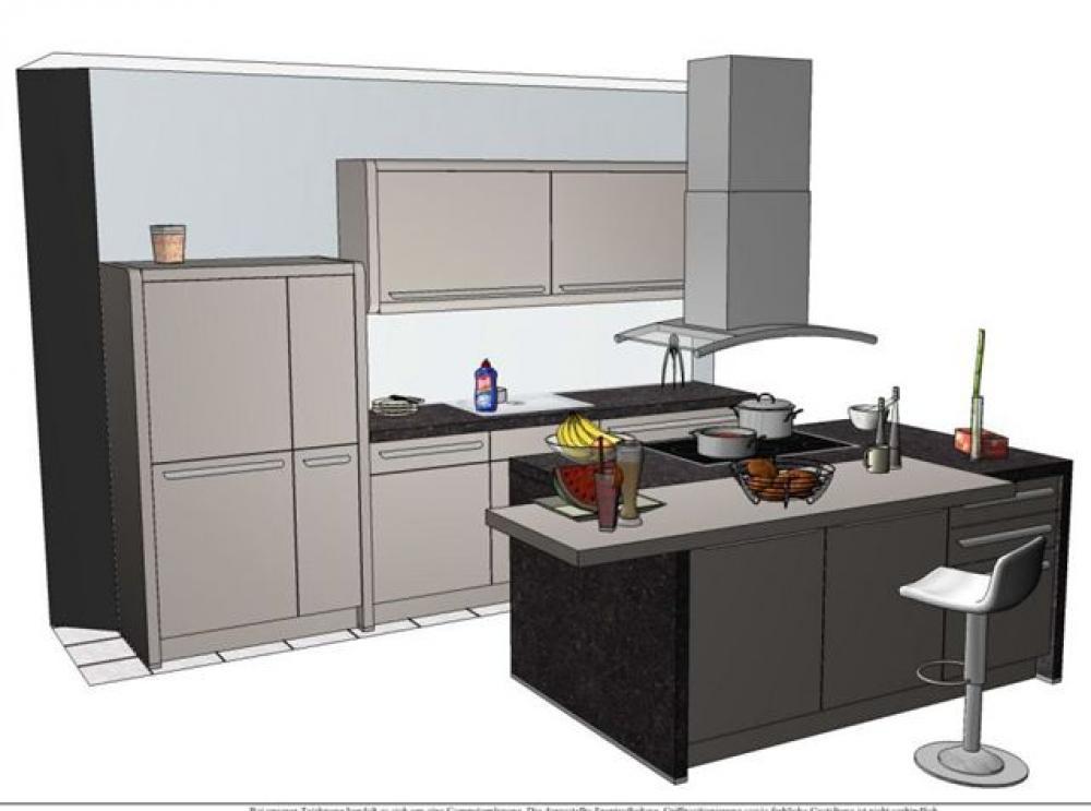 Nolte Küchen U-form | arkhia.com | {Nolte küchen mit kochinsel und theke 60}