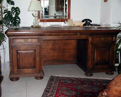 Rustikaler Schreibtisch wohnmöbel schreibtisch 2 trg 4 schubl möller erhältlich in