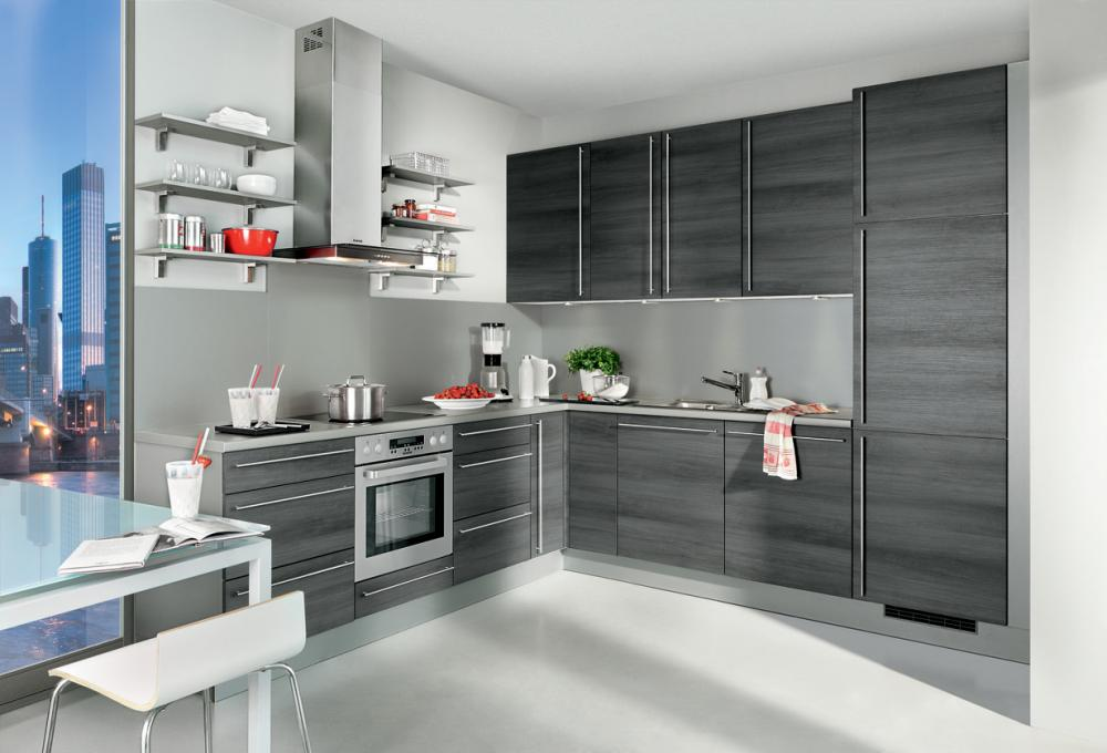 Einbauküchen L Form | arkhia.com | {Küchen l form grau 3}