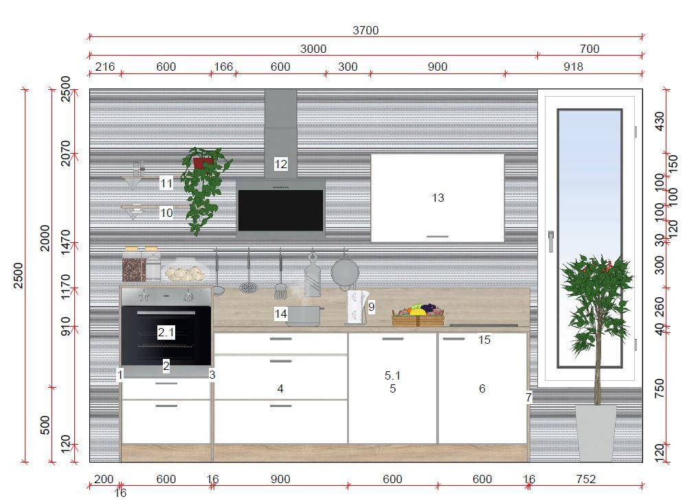 k chenzeile von express erh ltlich in oederan. Black Bedroom Furniture Sets. Home Design Ideas