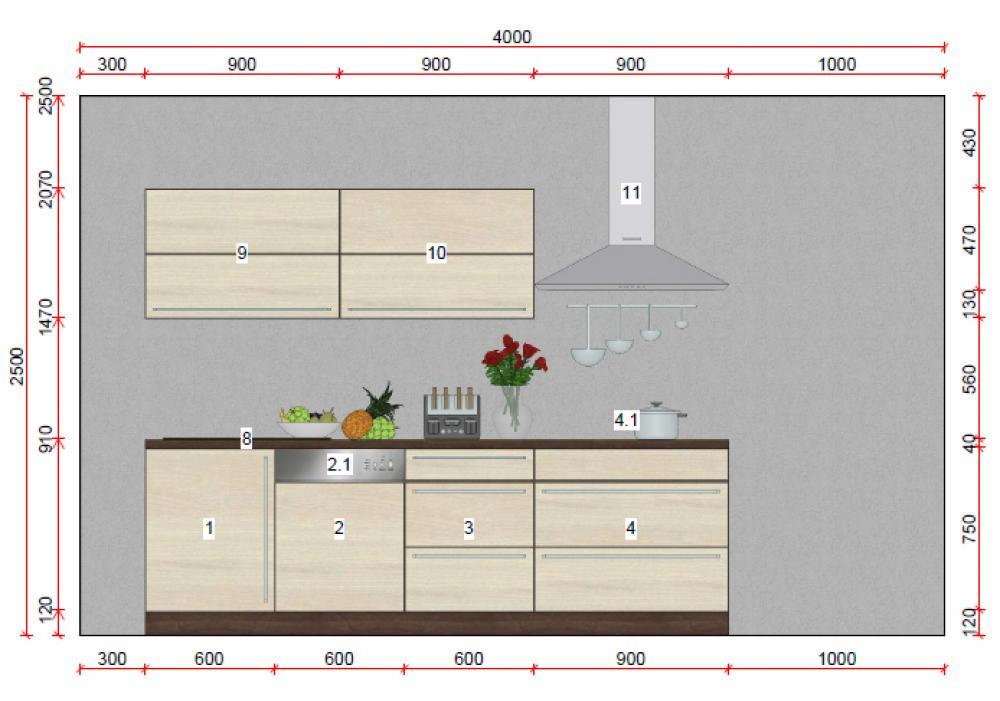 zweizeilige küche von express - erhältlich in oederan - Küche Zweizeilig