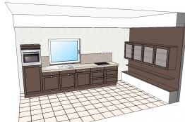 g nstige h cker k chen. Black Bedroom Furniture Sets. Home Design Ideas