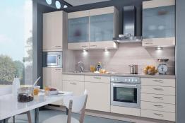 gnstige kchenzeilen. Black Bedroom Furniture Sets. Home Design Ideas