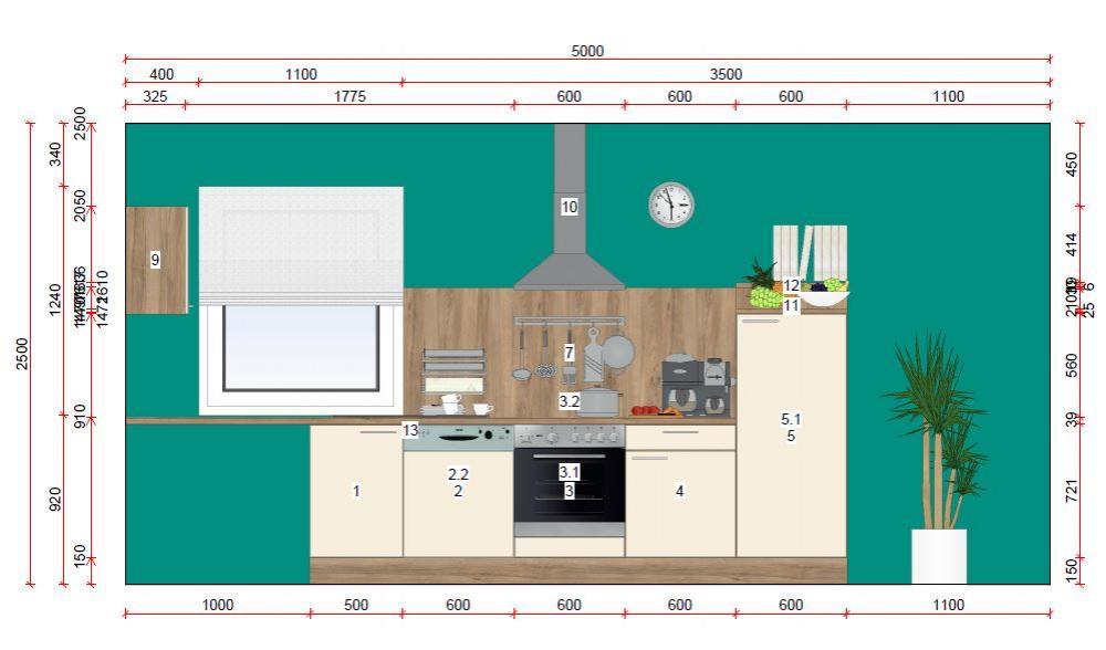 Küchenzeile von Online - Küchenfachgeschäft - Foto  2