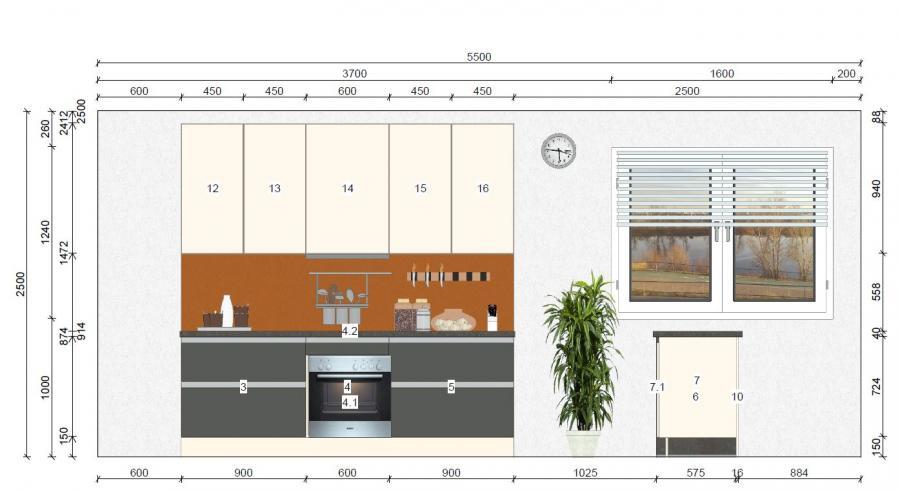 Inselküche von Online - Küchenfachgeschäft - Foto  3