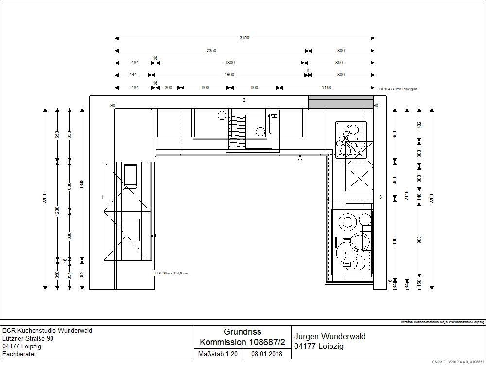 Küche in U-Form von BCR Küchenstudio Wunderwald - Foto  1