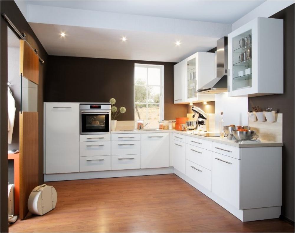 Küche in L-Form von Wellmann - erhältlich in Oederan